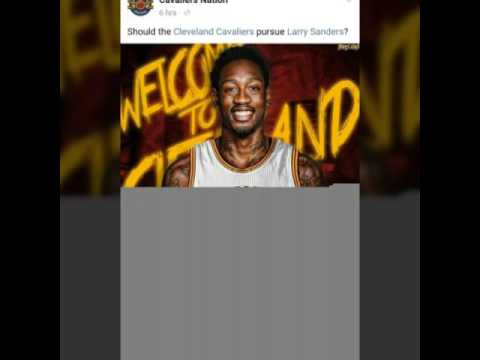 Larry Sanders to the Cleveland Cavaliers??!!!