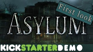 Getting lost is the halls of Hanwell ASYLUM | Kickstater alpha Demo | Co-Op Madness