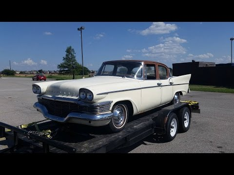 1958 Studebaker Commander Rescue Video 1