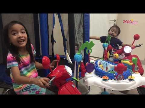 Sewa Mainan Anak Dan Bayi | Zara Cute Belajar Presentasi Produk | Playground Di Rumah
