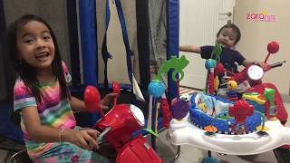 Download Video Sewa Mainan Anak dan Bayi | Zara Cute belajar Presentasi Produk | Playground di Rumah MP3 3GP MP4