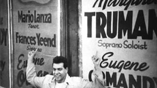 Mario Lanza - The Donkey Serenade