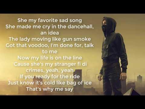 Alan Walker - Lonely LYRIC VIDEO Feat. Steve Aoki Isak Omar Noir