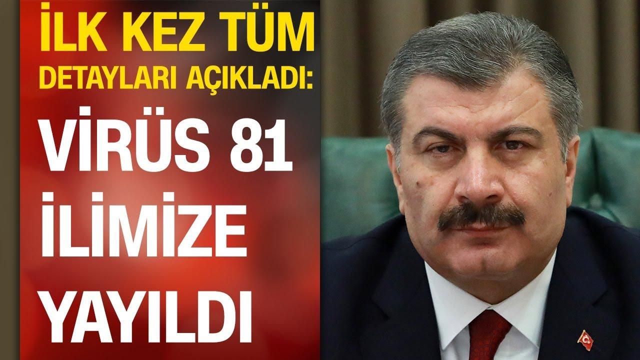 Sağlık Bakanı Fahrettin Koca, Türkiye'deki son durumu anlattı | açıklamalarının tamamı 01.04.20