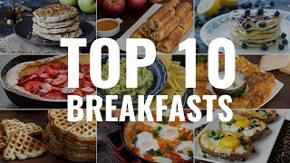 breakfast recipes using eggs