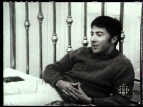 Moses Znaimer Interviews Actor Dustin Hoffman for CBC's Take 30 (1968)