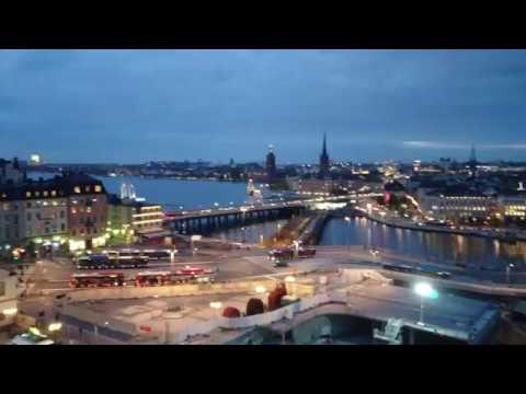 [Stockholm] View from scenic terrace | Oct 17, 2016