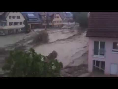 Flooding in Germany 30-5-2016