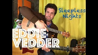 Guitar & Ukulele Lesson: How To Play Sleepless Nights by Eddie Vedder (and Glen Hansard)