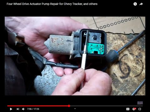 Four Wheel Drive Actuator Pump Repair For Chevy Tracker, And Others
