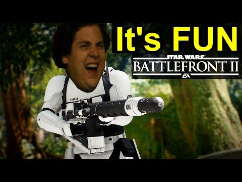 Fuck Me Right? I Like Star Wars Battlefront 2 - SWBF2 Review and Loot Box Gambling Controversy