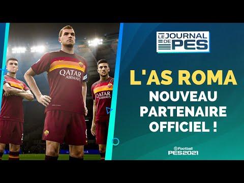 PES 2021 : L'AS ROMA PARTENAIRE OFFICIEL + PES 2021 MOBILE BIENTÔT DISPONIBLE ! @eFootball PES