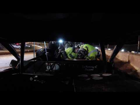 Josh Gibson 4-1-17 Cherokee Speedway FWD Main Event Lap 1