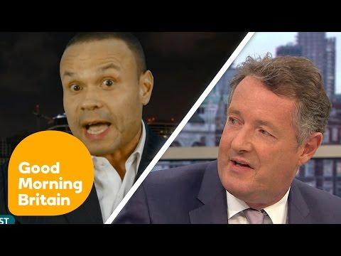 Piers Morgan Argues Over 21 Year Olds Being Allowed Guns On Campus | Good Morning Britain