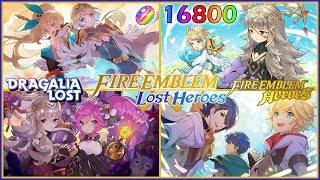 Dragalia Lost Fire Emblem Lost Heroes Banner Summons!