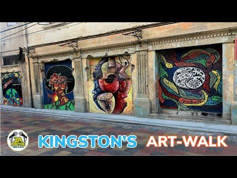 Art Walk In Downtown Kingston 🇯🇲