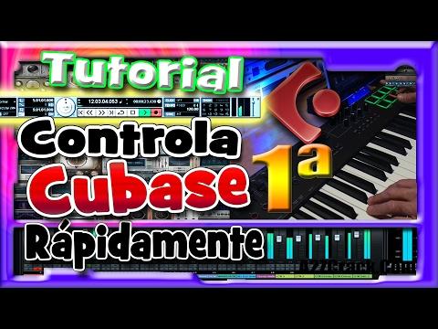 Tutorial Cubase español, iniciacion. Parte 1 de 3. Configuracion, grabacion de midi,audio…
