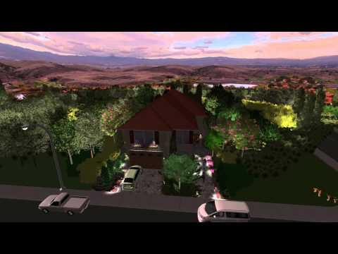 3D Landscape and pool design - VIRTUAL PRESENTATION STUDIO video pricing