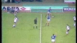 England vs Yugoslavia 1988 UEFA Euro Cup Qualifier (Part 3 of 4)
