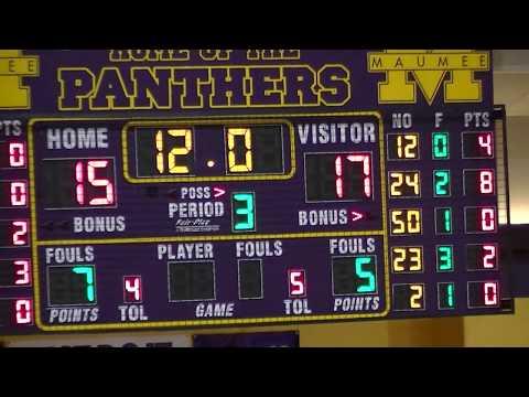 Maumee High School Boys Freshman Basketball VS Napolean(Part 2)