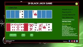 Web Development BlackJack Game in JavaScript - Assignment Video Demonstration
