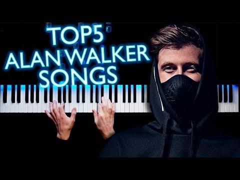 TOP5 ALAN WALKER SONGS | PIANO