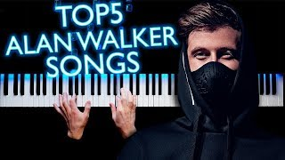 Download TOP5 ALAN WALKER SONGS | PIANO