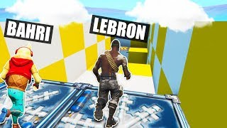 I Found LEBRON JAMES Inside This Fortnite Server!