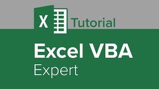 Excel VBA Expert Tutorial
