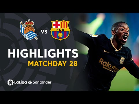Real Sociedad Barcelona Goals And Highlights