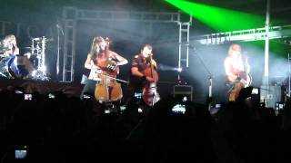 Apocalyptica -  Hall Of The Mountain King (Live El Salvador 25-01-2012)