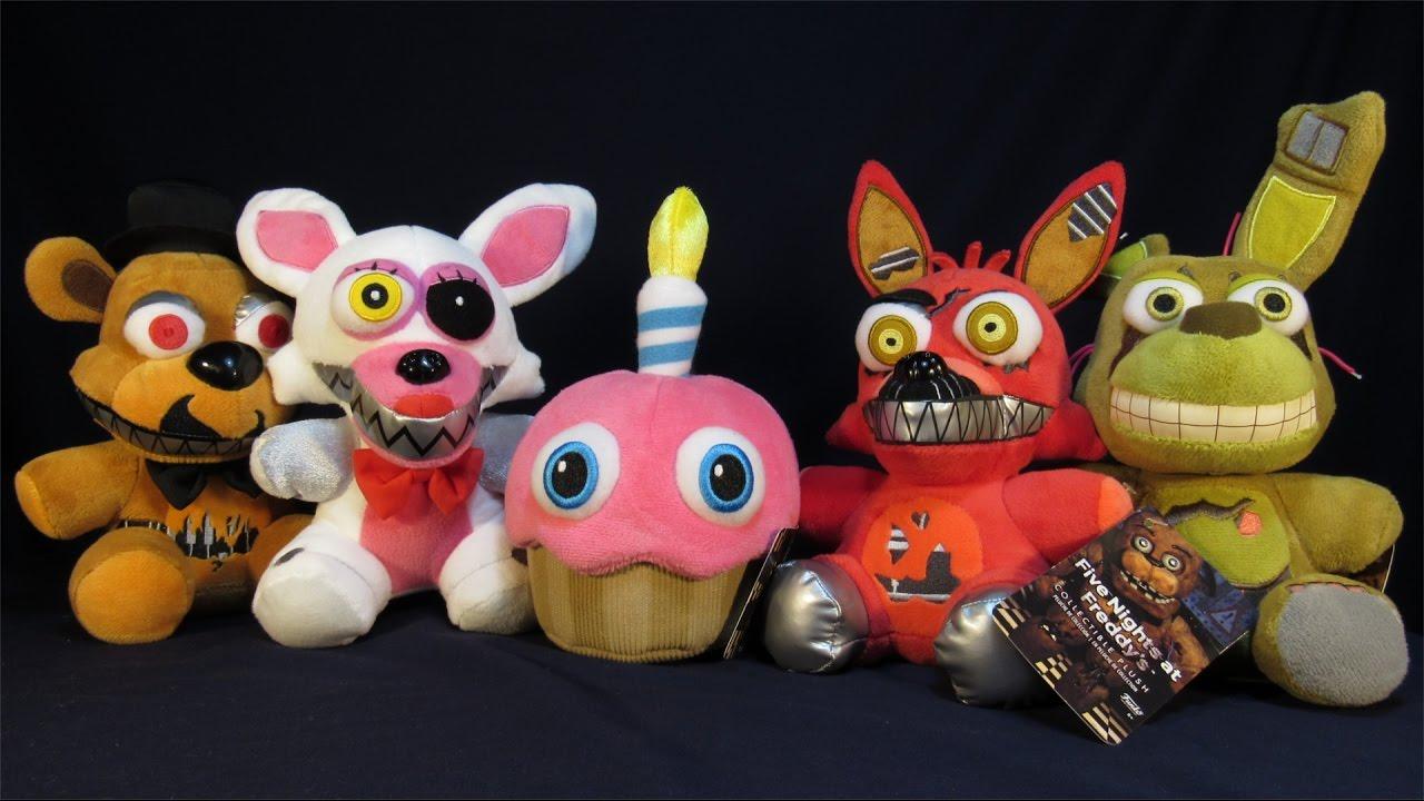 Koala Stuffed Animals Mini, Five Nights At Freddy S Wave 2 Plush Toys Spring Trap Mangle Mr Cupcake Nightmare Foxy Freddy Youtube