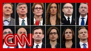 Impeachment witnesses outline Trump quid pro quo