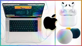 Nuevos MACBOOK PRO, AIRPODS 3 y MÁS: Evento Apple