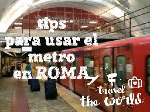 Tips para el metro en roma