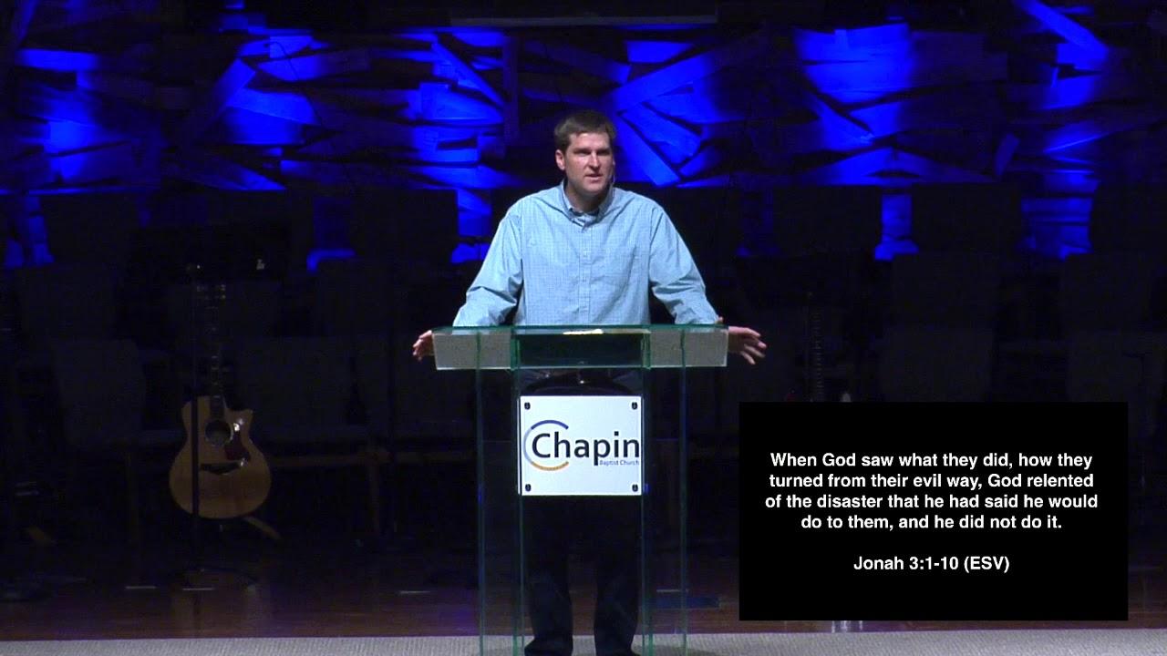 Jonah Pouts  Jonah 3-4 Michael Hull Senior Pastor 04 14 2019