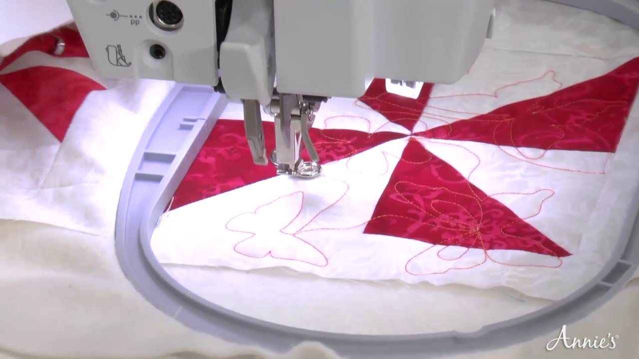 Learn Edge To Edge Quilting With Your Embroidery Machine
