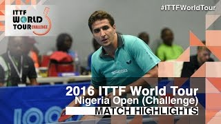 2016 Nigeria Open Highlights: Khalid Assar vs Benedek Olah (Final)(Review all the highlights from the Khalid Assar vs Benedek Olah (Final) Match from the 2016 Nigeria Open Subscribe here for more official Table Tennis ..., 2016-05-22T20:09:22.000Z)