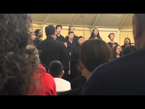 Imperial High School's Adv. Choir - fun. Medley (Fall concert 10/20/15)