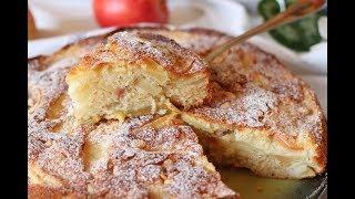 Вкусный яблочный пирог Простой и экономный