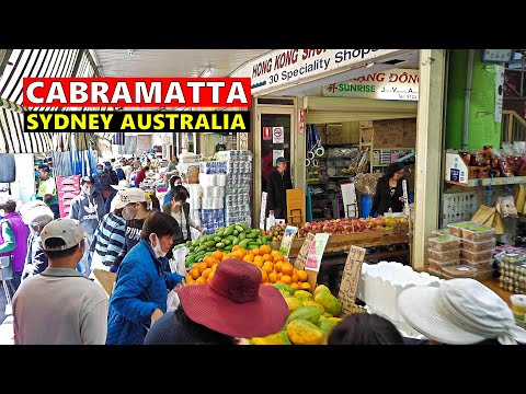CABRAMATTA City Centre SYDNEY Australia | 53 Minutes Shopping Streets Walking Tour