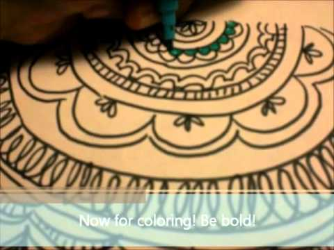 How to Draw: Aztec Print - YouTube