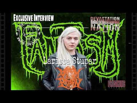 FANTASM Podcast: Larissa Stupar of VENOM PRISON Interview