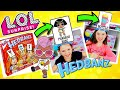 WE PLAY LOL SURPRISE HEDBANZ GAME!! CUSTOM L.O.L BIG SURPRISE | DIY | SERIES 1 2 3 & 4 Dolls Pets