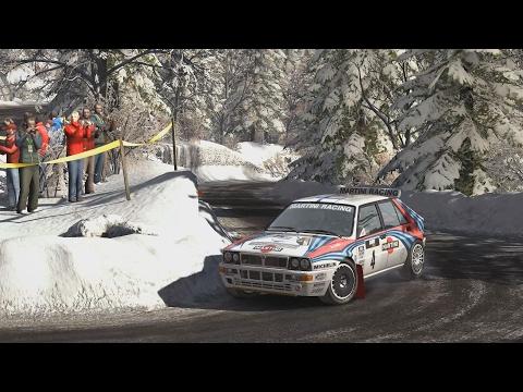 Dirt Rally - Lancia Delta Integrale - Monaco, Route de Turini Montée (daily 2017-02-07)
