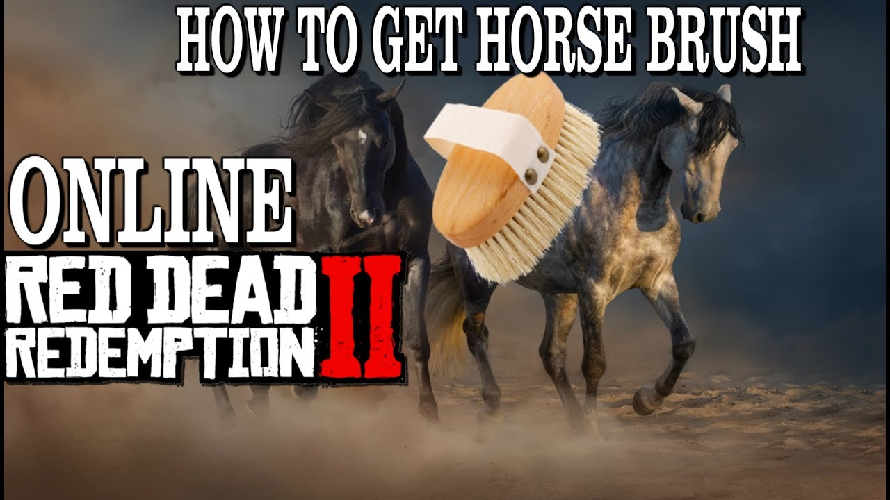 Red dead redemption 2 horse brush