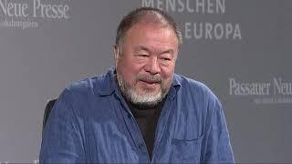 MiE 2019 Live: Ai Weiwei erhält MiE-Kunst Award in Passau