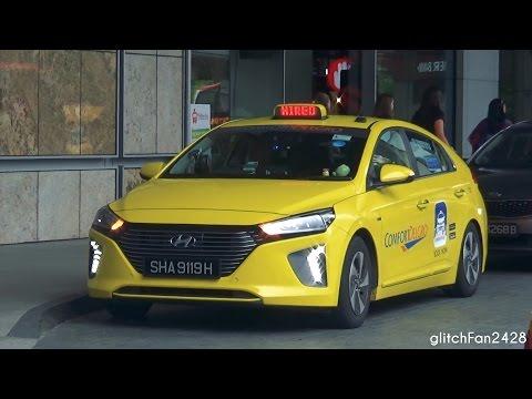 [ComfortDelGro] Brand New 2017 Hyundai Ioniq Taxi Spotted in Singapore