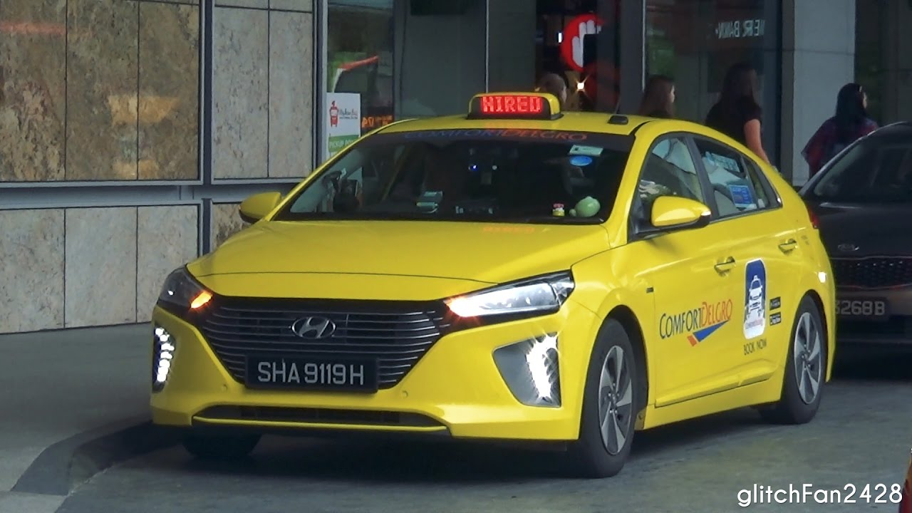 Hyundai Of Somerset >> [ComfortDelGro] Brand New 2017 Hyundai Ioniq Taxi Spotted in Singapore - YouTube