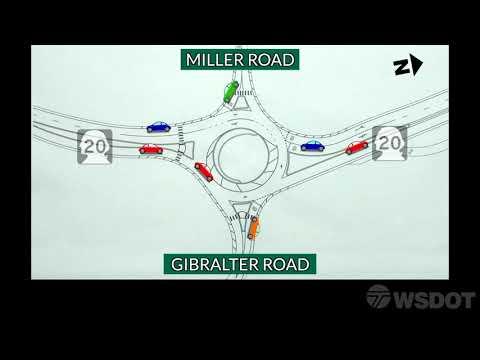 SR 20 Sharpes Corner Roundabout Construction Timeline - YouTube